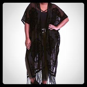 Torrid - Velvet Burnout Kimono